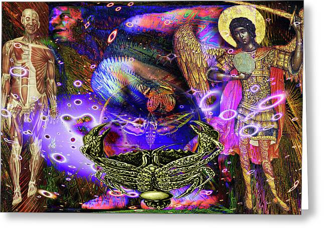 Solarlife Emotion Greeting Card by Joseph Mosley