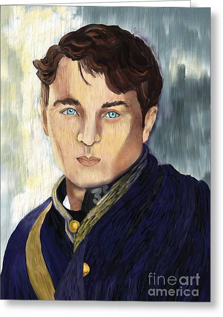 Historical Pictures Greeting Cards - Soldier Blue Greeting Card by Sydne Archambault