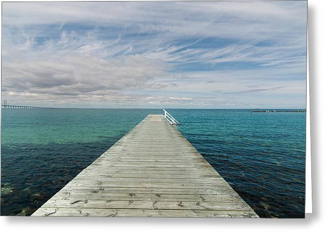 Ocean Landscape Greeting Cards - Solitude Greeting Card by Marcus Karlsson Sall