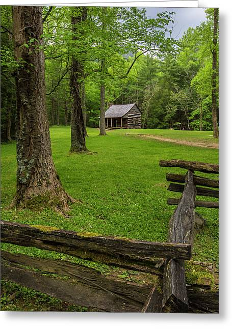 Original Photographs Greeting Cards - Somebody Lived Here Greeting Card by Jon Glaser