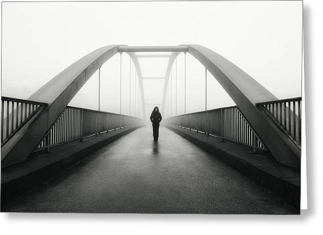Moods Greeting Cards - Somehow Directed Greeting Card by Christoph Hessel