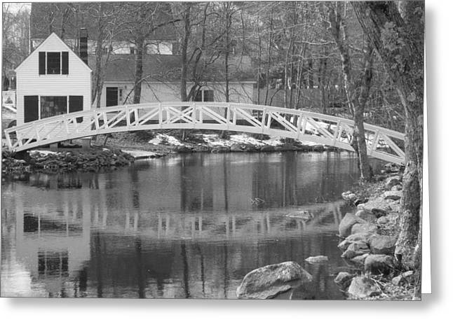 Somesville Maine Greeting Cards - Somesville Maine Greeting Card by Bruce Fleming