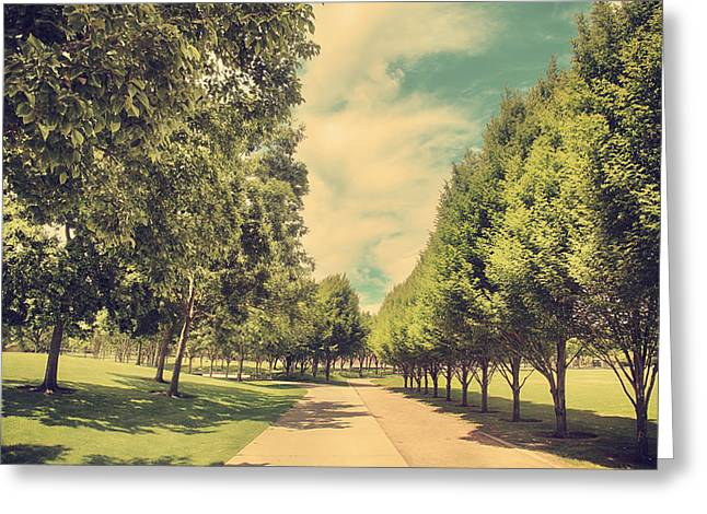 Walking Paths Greeting Cards - Something Came Over Me Greeting Card by Laurie Search