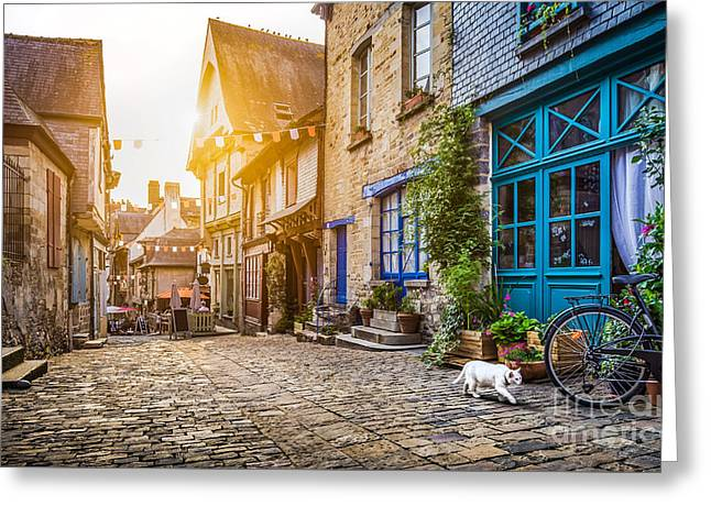 Alley Of Dreams Greeting Card by JR Photography