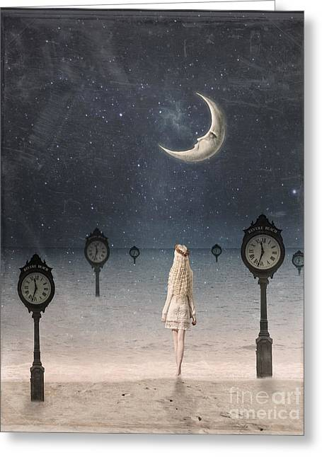 Somewhere In Time Greeting Card by Juli Scalzi