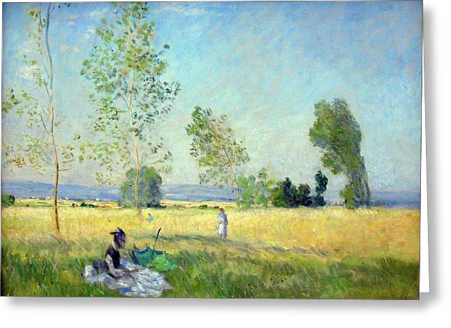 Sommer Anagoria Claude Monet 1874 Greeting Card by Movie Poster Prints