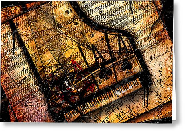 Sonata In Ace Minor Greeting Card by Gary Bodnar