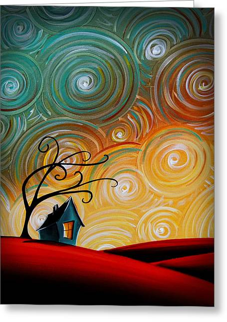 Rural House Greeting Cards - Songs Of The Night Greeting Card by Cindy Thornton