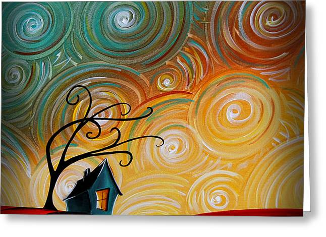 Songs Of The Night Greeting Card by Cindy Thornton