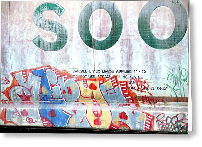 SOO Greeting Card by Jame Hayes