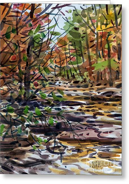 Ga Greeting Cards - Sope Creek One Greeting Card by Donald Maier