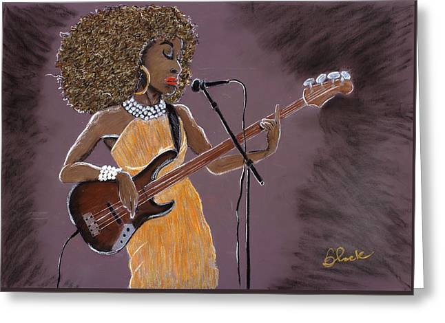 City Art Greeting Cards - Sophisticated Funk Greeting Card by Charlie Black