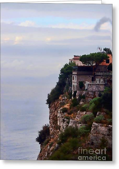 Fine Art In America Greeting Cards - Sorrento Greeting Card by Tom Prendergast