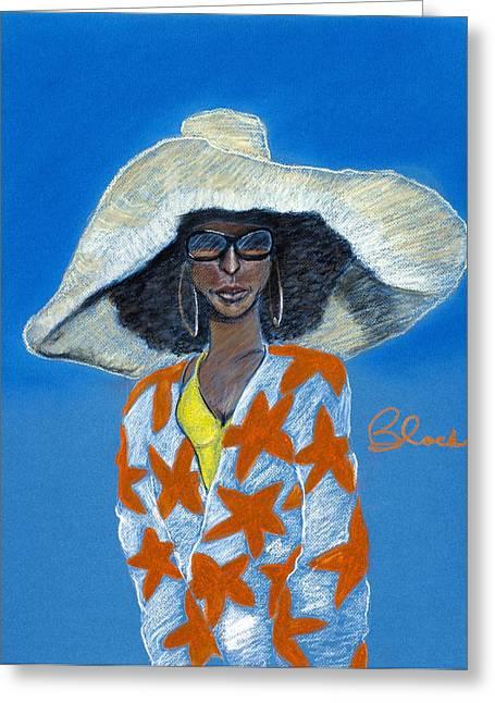 City Art Greeting Cards - Soul Eyes Greeting Card by Charlie Black