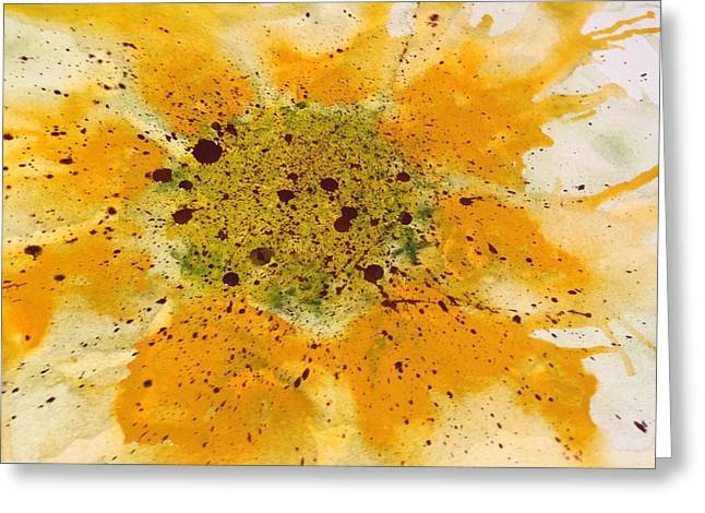 Harvest Art Greeting Cards - Soul Melt Greeting Card by Annie Young