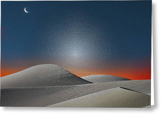 Sahara Sunlight Greeting Cards - Soul of Freedom Greeting Card by Scott Mendell