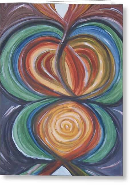 Soul Print Greeting Card by Patricia Idarola