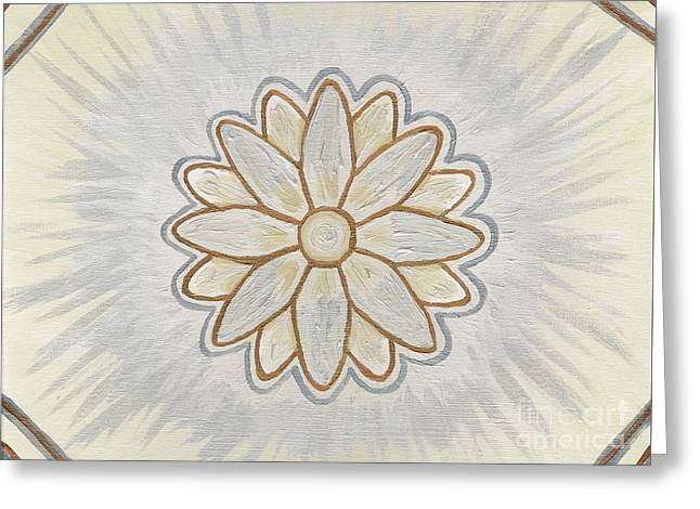 Souls Greeting Cards - Soul Star Flower Greeting Card by Julia Stubbe