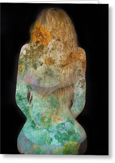 Female Body Greeting Cards - Sound of the Silence v2 Greeting Card by Alex Art