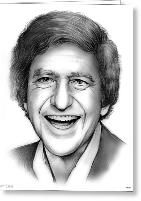 Soupy Sales Greeting Card by Greg Joens