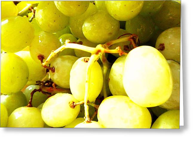 Grape Vineyard Greeting Cards - Sour Grapes Greeting Card by Dietmar Scherf