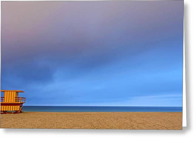 Fineartamerica Greeting Cards - South Beach 2770 Greeting Card by Steve Lipson
