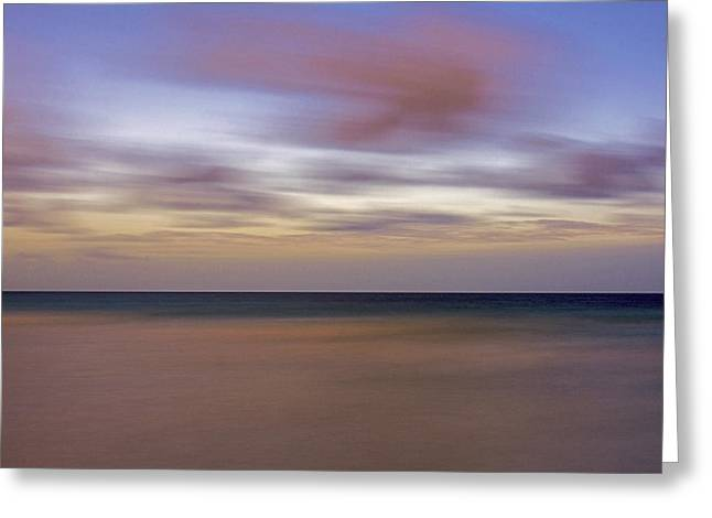 Ocean Landscape Greeting Cards - South Beach 3925F Greeting Card by Steve Lipson