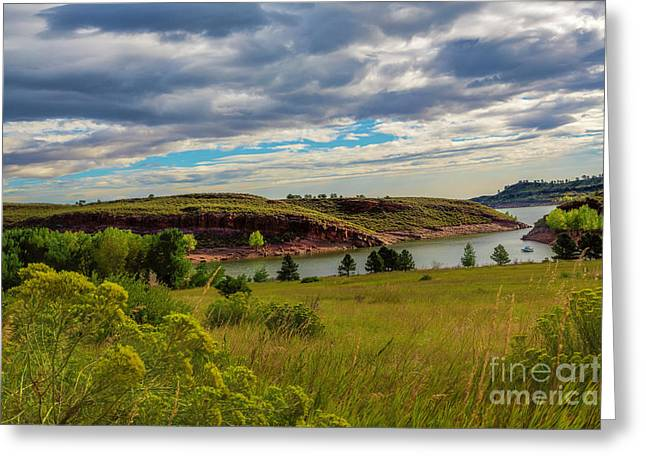 Colorado State University Greeting Cards - South Eltuck Cove Greeting Card by Jon Burch Photography