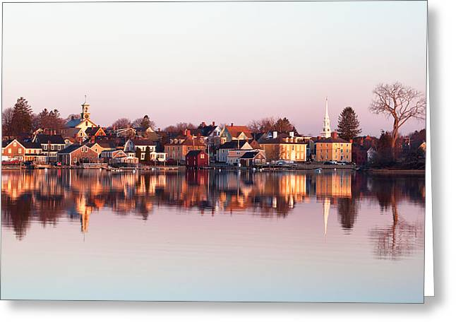 Recently Sold -  - Ocean. Reflection Greeting Cards - South End Reflections Greeting Card by Eric Gendron