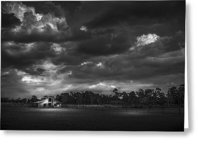 South Forty Bw2 Greeting Card by Marvin Spates
