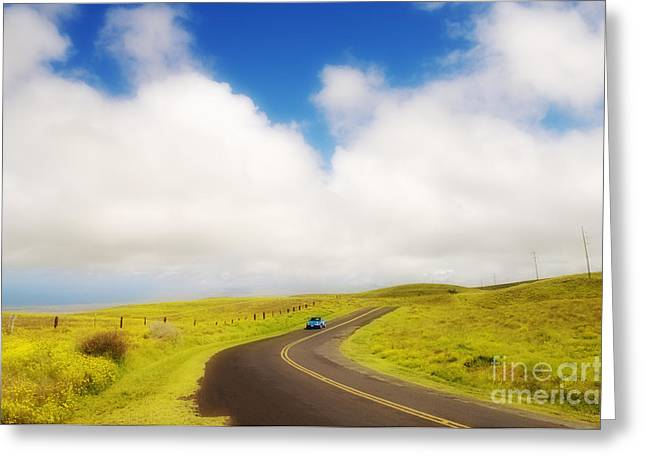 Best Sellers -  - Pastureland Greeting Cards - South Kohala Greeting Card by Greg Vaughn - Printscapes