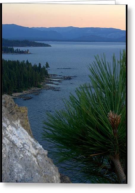 South Lake Tahoe Greeting Cards - South Lake Tahoe CA Greeting Card by Brad Scott