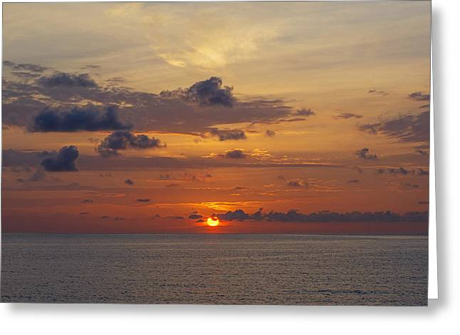 Fineartamerica Greeting Cards - South Pointe 2736 Greeting Card by Steve Lipson