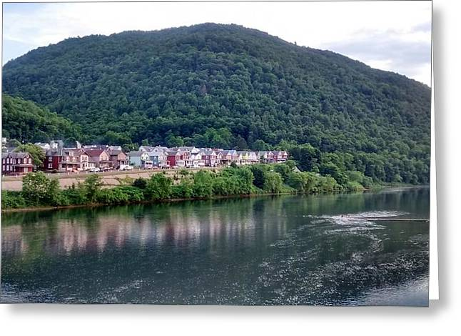 South Renovo Greeting Card by Bruce Lennon