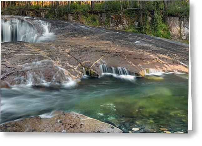 South Umpqua Falls Greeting Card by Leland D Howard
