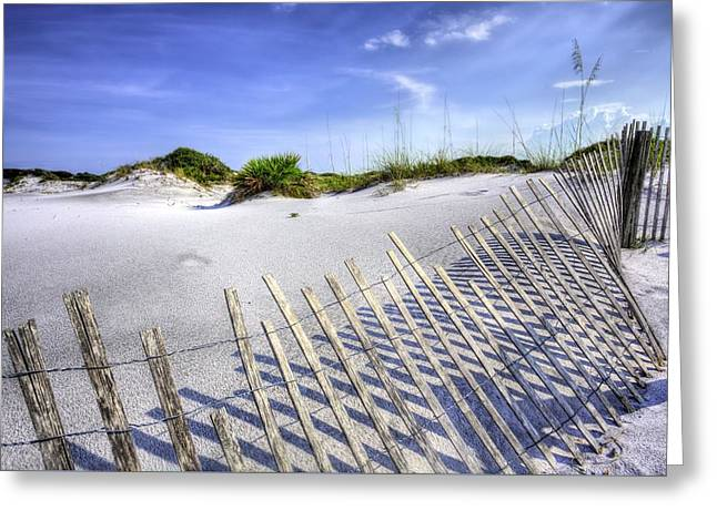 On The Beach Greeting Cards - South Walton Beaches Greeting Card by JC Findley