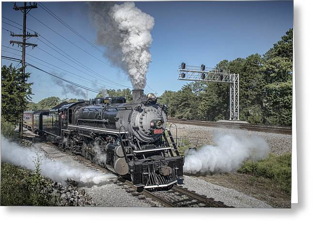 21st Greeting Cards - Southern 4501 at Railfest 2015 -1 Greeting Card by Jim Pearson