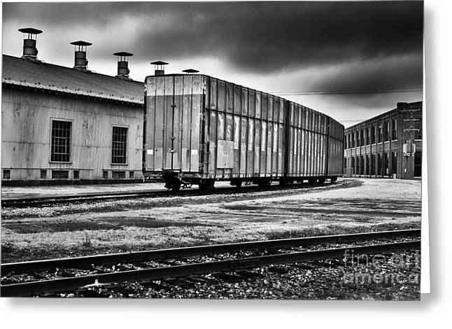 Car Carrier Greeting Cards - Southern Autoguard car #599000 Greeting Card by Patrick M Lynch