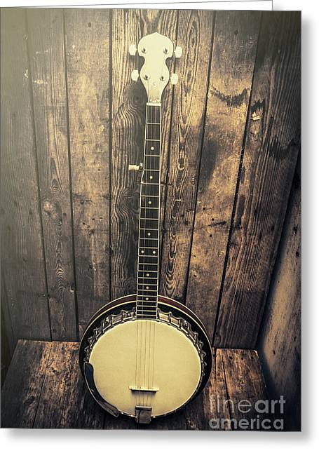 Southern Bluegrass Music Greeting Card by Jorgo Photography - Wall Art Gallery