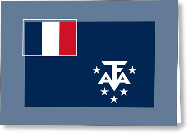 Southern France Flag Greeting Card by Frederick Holiday