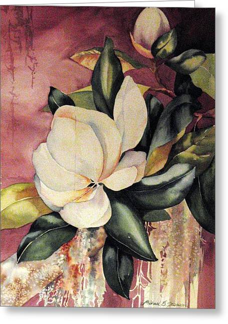 Southern Scents Greeting Card by Michael  Pearson