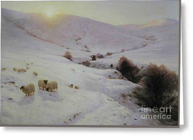 Southland Hills Greeting Card by Celestial Images
