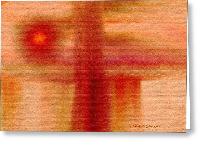 Abstractions Greeting Cards - Southwest Design Greeting Card by Lenore Senior