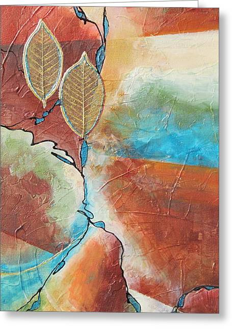 Southwest Dream Greeting Card by Deborah Ronglien