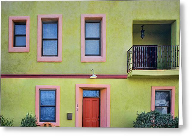 Southwestern - Architecture - Barrio Viejo Greeting Card by Nikolyn McDonald