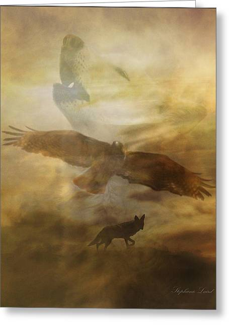 Spirit Guides Greeting Cards - Southwestern Dream Greeting Card by Stephanie Laird