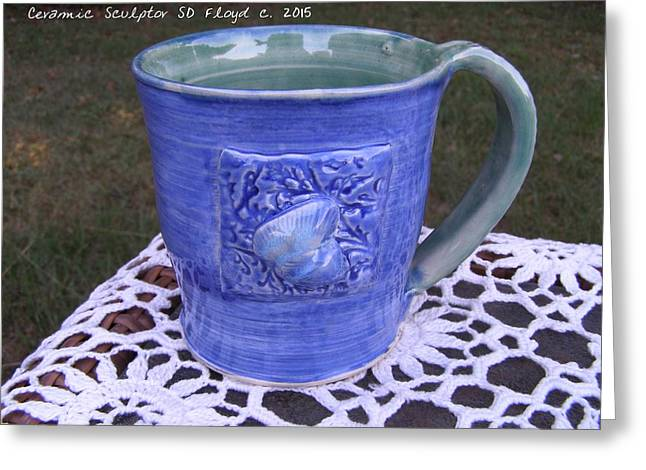 Beaches Ceramics Greeting Cards - Souvenirs Along The Way Greeting Card by Sandi Floyd