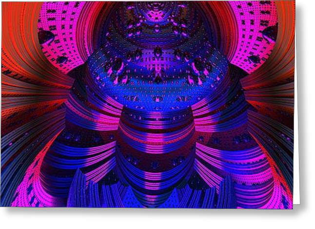 Space Dimensions  Greeting Card by Gregory Pirillo