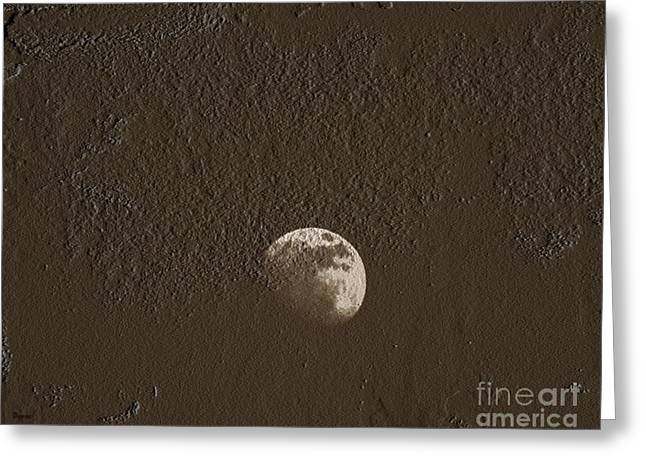 Space Dirt  Greeting Card by Steven  Digman