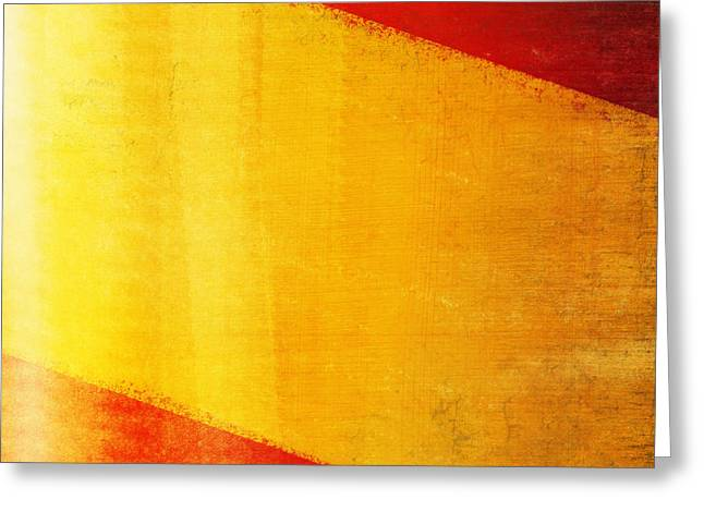 Revival Greeting Cards - Spain flag Greeting Card by Setsiri Silapasuwanchai